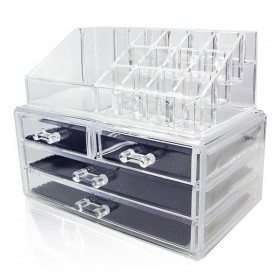 Cosmetics jewellery organizer storage box case