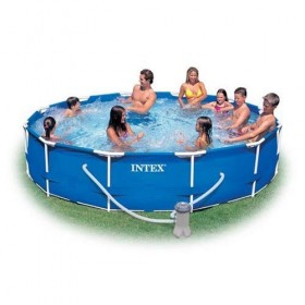 INTEX 28210 12x30 METAL FRAME POOL