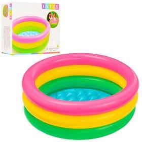 INTEX 57107 Swimming Pool 2 Feet For Kids Multicolor