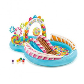 Intex 57149 Candy Zone Inflatable Play Center,