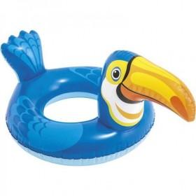 Intex 58221 Big Animal Swim Ring, Alligator