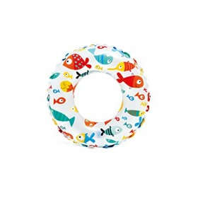 Intex 59241Lively Print Swim Ring (Pack of 2)