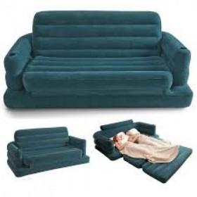 Intex 68566-E modern air sofa combed