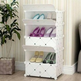 5 Cubes Stylish Shoes Organizer
