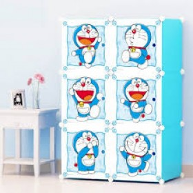 6 Cube Kids Wardrobe Shelf