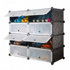8 Cubes Shoes Organizer Cabinet
