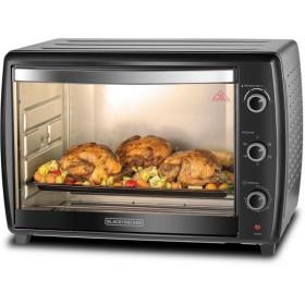 Black & Decker 66l Lifestyle Toaster Oven, Black-tro66