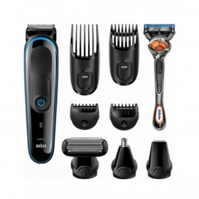 Braun Wet and Dry Trimmer with 4 Guide Combs (MGK3080)