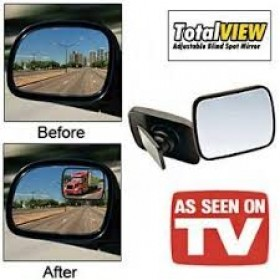 360 Rotating Total View Adjustable Blind Spot Mirror