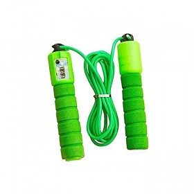 Brand Mall Adjustable Skipping Rope With Counter Orange (0538)