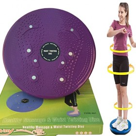 Body Massager Twister Plate Black
