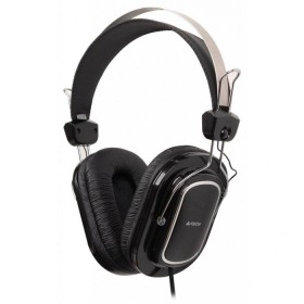 A4TECH HS-200 Wired Headphone Mic in Line - Silver