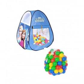 Frozen Tent House & 50 Pcs Soft Plastic Balls (PB1171)