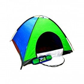 Foldable Camping Tent Multicolor