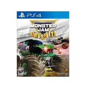 Monster Jam: Crush It! Game For PS4