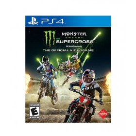 Monster Energy Supercross: The Official Video Game For PS4