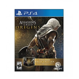 Assassin's Creed Origins SteelBook Gold Edition Game For PS4