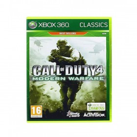 Call of Duty 4: Modern Warfare Game For Xbox 360