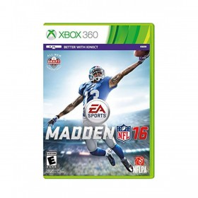 Madden NFL 16 Game For Xbox 360