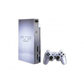 Sony PlayStation 2 Silver with M7 Chip