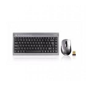 A4Tech 7700N (GL-6+G7-630N) Mini Padless Wireless Multimedia Desktop Keyboard & Mouse Set