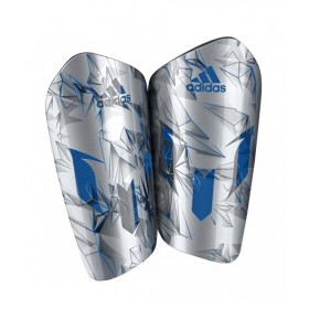 Professional Shin Pads Messi Edition Grey