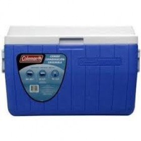 Coleman 54 Quart Cooler Blue