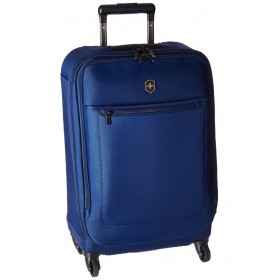 Avolve 3.0 Large Expandable Carry-On Spinner - Blue