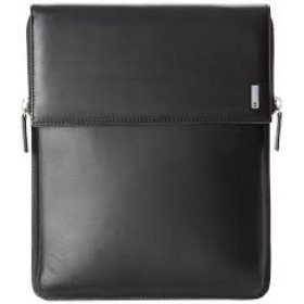 ALTIUS RIO Leather IPad Flapover Case - Black
