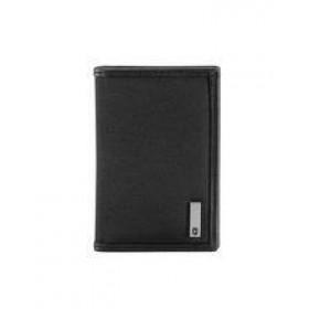 ALTIUS TOKYO Bi-Fold Card Holder - Black