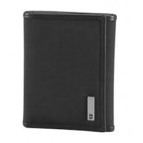 ALTIUS MOSCOW Tri-Fold Wallet - Black
