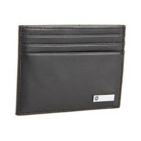 ALTIUS ROME Money Clip + Card Holder - Black