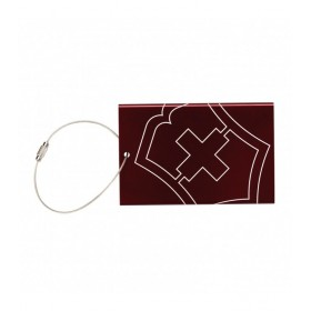 Accessories 3.0 Luggage Tag With Lost Bag Recovery Program - Red