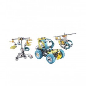 Basiqi Motor Construction Builder Multicolor (PBM015)