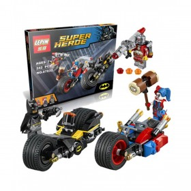 Batman Batcycle With Harley Quinn Lego (PX-9257)