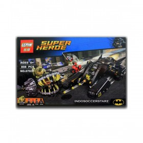 Batman Batmobile vs Killer Croc Sewer Smash Building Blocks (PX-9580)