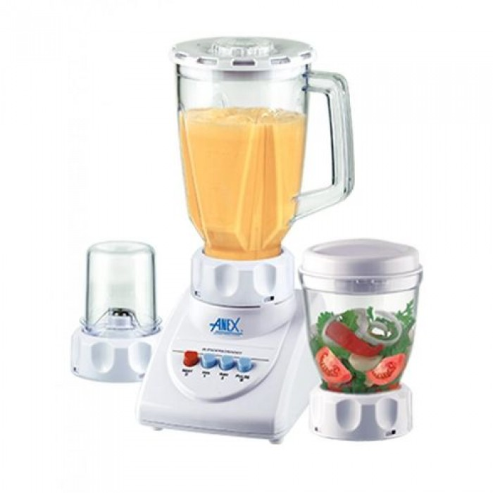 Anex 300 Watts 3 In 1 Blender & Grinders  AG-695UB