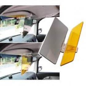 HD Visor Day & Night Visor Easy View Vision flip Down Easy Sun Glare Block View UV Block BKH-06
