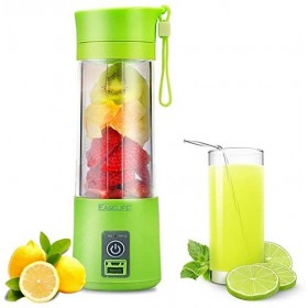 New Portable Mini 2 Blades USB Rechargeable Juicer Cup