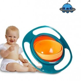 Anti Drop Bowl 360 Dish Spills For Infants Babies