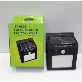 Solar Powered 30 LED wall light Waterproof