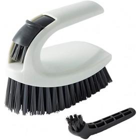 Scrubbing 2 in 1 Kitchen & Bathroom Scrubbing Brush