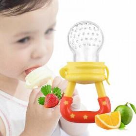Baby Fruit Dummy Feeding Nibbles Pacifier Fresh Fruit