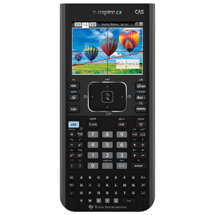 Texas Instruments TI Nspire CX CAS Color Handheld Graphing Calculator