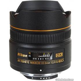 AF DX Fisheye-Nikkor 10.5mm f/2.8G ED Lens