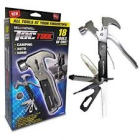 Bell + Howell Tac Tool 18-In-1 Multi-Tool