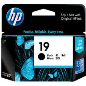 HP 19 Black Inkjet Print Cartridge (C6628AA)