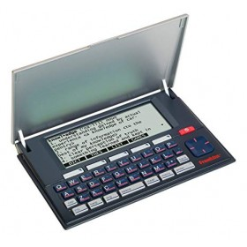 Franklin MWD-1500 Merriam Webster Advanced Dictionary and Thesaurus with Spell Correction (R-B)