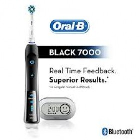 Oral-B 7000 Bluetooth Electric Rechargeable Toothbrush Black