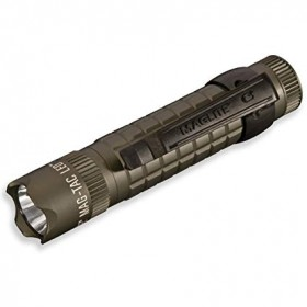 MAGLITE MAGTAC 2-Cell CR123 Crowned Bezel LED - GREEN